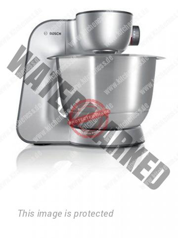 Bosch MUM56S40 Küchenmaschine Styline MUM5 (900 Watt, 3.9 Liter) silber - 2