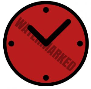 Uhr der Küchenmaschine