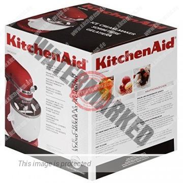 KitchenAid Speiseeismaschine Verpackung