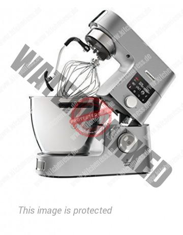 Aufgeklappte Kenwood Cooking Chef Gourmet KCC9060S Küchenmaschine