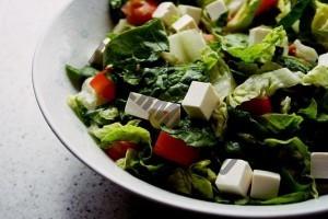 Salat aus der Siemens Küchenmaschine
