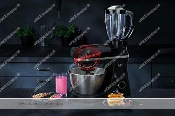 AEG 3Series KM3300 Küchenmaschine mit Mixeraufsatz