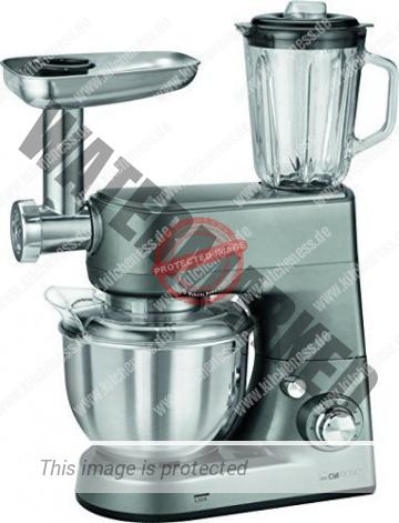 Clatronic KM 3648 Küchenmaschine mit Zubehör