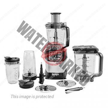 Nutri Ninja BL490EU2 Küchenmaschine mit Zubehör