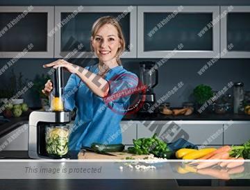 WMF KULT X Spiralschneider in der Küche