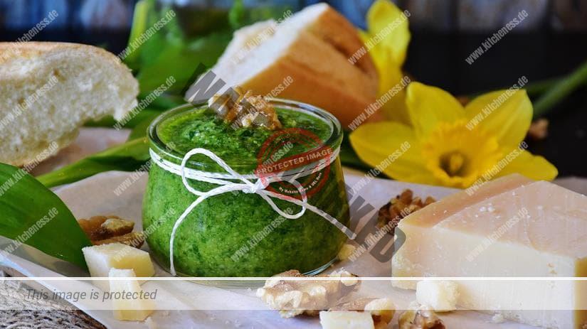 Pürierstab für Pesto