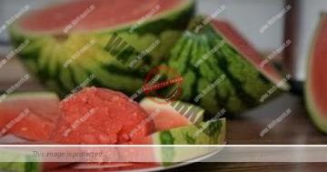 Wassermeloneneis