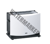 Braun Multiquick 3 HT450 Toaster | Doppelschlitz Toaster mit Brötchenaufsatz | Auftaufunktion | Krümelschublade | Wärmeisoliertes Gehäuse | Weiß [Energieklasse A] [Energieklasse A]