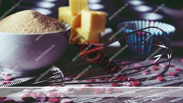 Zutaten für Cupcakes