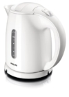 Philips HD4646/00 Wasserkocher (1,5 Liter, 2400 Watt, Anti-Kalk), weiß