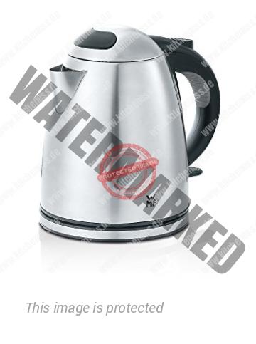 WMF STELIO Wasserkocher, 1,2 l, 2400 W, Wasserstandsanzeige beleuchtet, Kalk Wasserfilter, cromargan matt/silber [Energieklasse A]