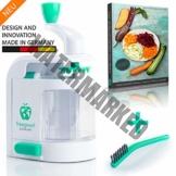 freegreen® Premium Spiralschneider Inklusive Kochbuch