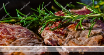 Steak nach Maillard-Reaktion