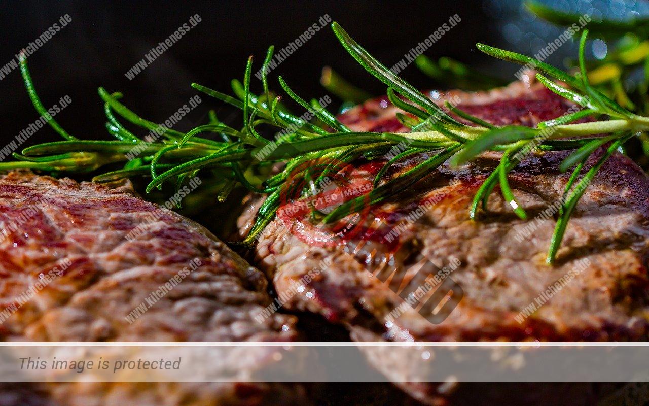 Steak nach Maillard-Reaktion