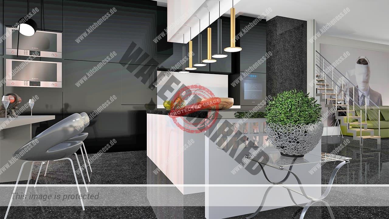 Marmor in Küche